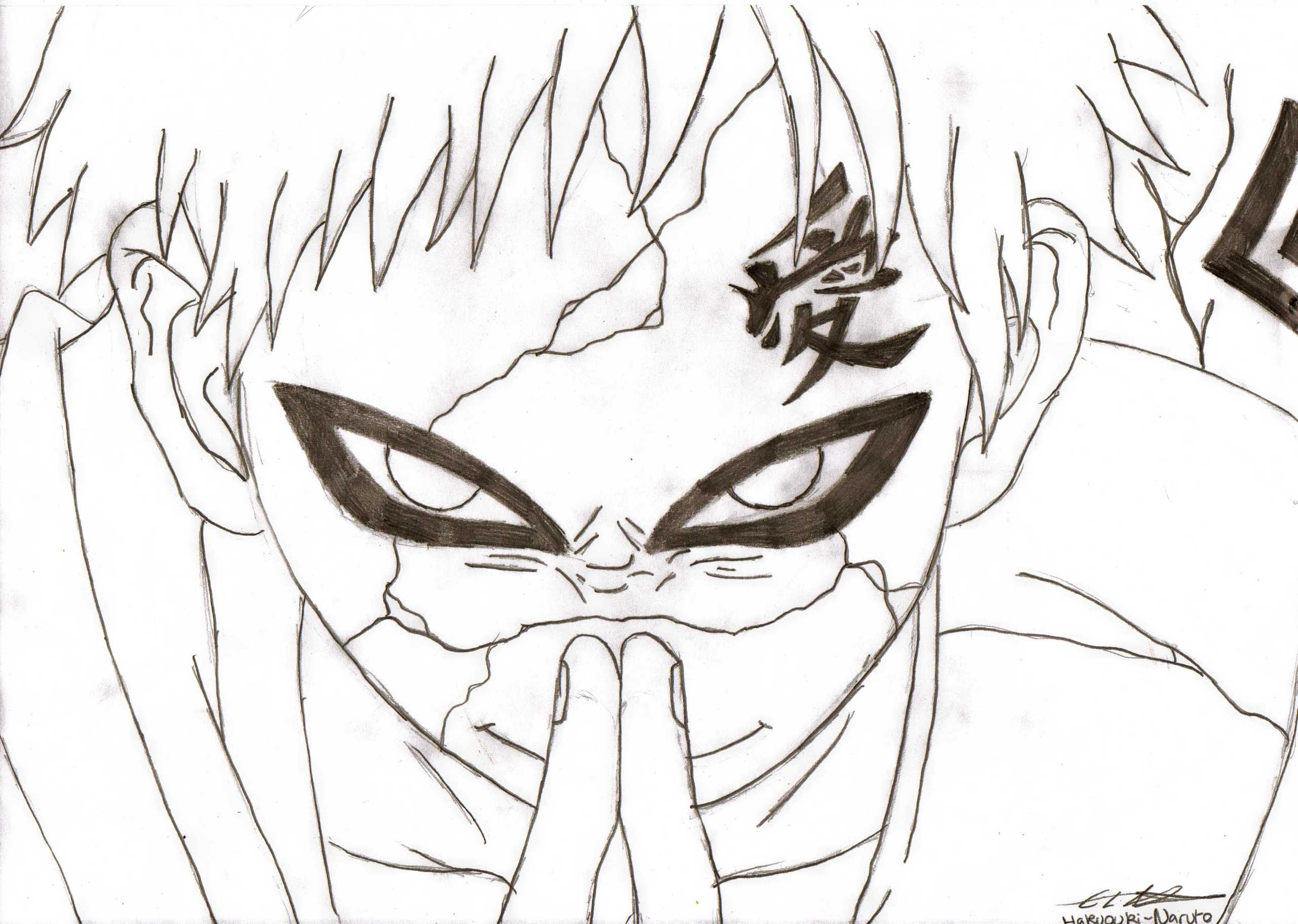 Young Gaara of the Sand  Anime Images