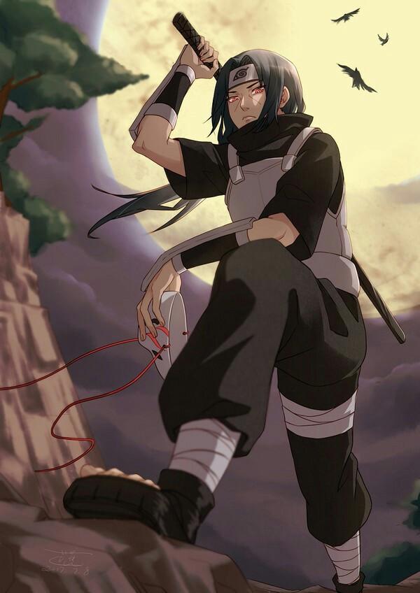 Itachi Uchiha Anbu Mask Anime Images